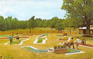 Fairfield Bay Arkansas~18 Hole Miniature Golf Course~1972 Post Card