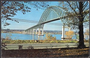 NB ~ The Miramichi Centennial Bridge CHATHAM pm1974 ~ Chrome 1950s-1970s