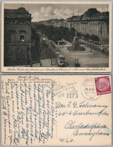 BERLIN UNTER DER LINDEN GERMANY VINTAGE POSTCARD