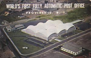 PROVIDENCE, Rhode Island, PU-1963; World's First Fully Automated Post Office