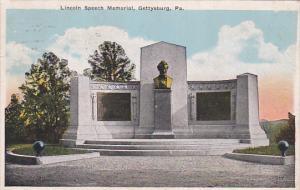 Lincoln Speech Memorial, GETTYSBURG, Pennsylvania, 10-20s