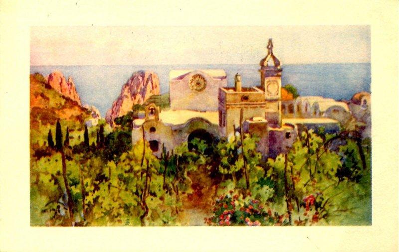 Italy - Capri. Charterhouse