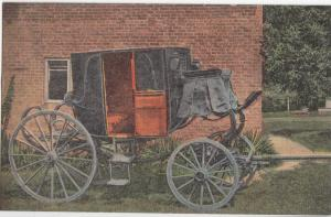 THE STAGE COACH OF GENERAL ANDREW JACKSON, HERMITAGE, TENNESSEE , unused linen