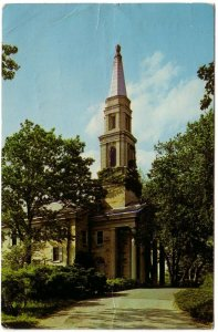 Chapel, Principia College, Elsah, Illinois, Vintage 1963 Chrome Postcard