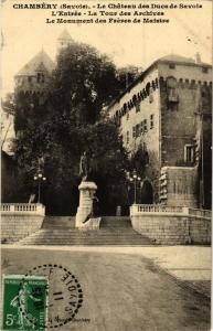 CPA CHAMBÉRY - Le Chateau des Ducs de Savoie L'Entrée - La Tou (252375)