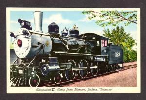 TN John Luther Casey Jones Train JACKSON TENNESSEE PC