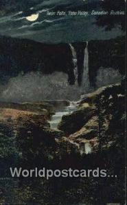 Yoho Valley Canada, du Canada Twin Falls  Twin Falls