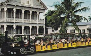 Miniature Train, Conch Tour Train, Gingerbread House, FLORIDA, 40-60's