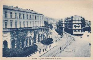 Bird´s Eye View, Lycee et Place Bab-et-Oued, ALGER,  Algeria, 10-20s