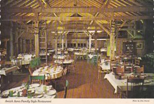 Indiana Nappanee Amish Acres Family Style Restaurant Dining Room