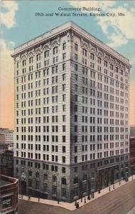 Missouri Kansas City Commerce Building 10th And Walnut Streets