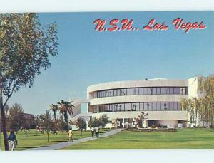 Pre-1980 LIBRARY AT NEVADA SOUTHERN UNIVERSITY Las Vegas Nevada NV L6546-13