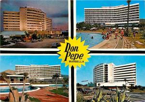 Spain Marbella Costa del Sol Hotel Melia Don Pepe Postcard