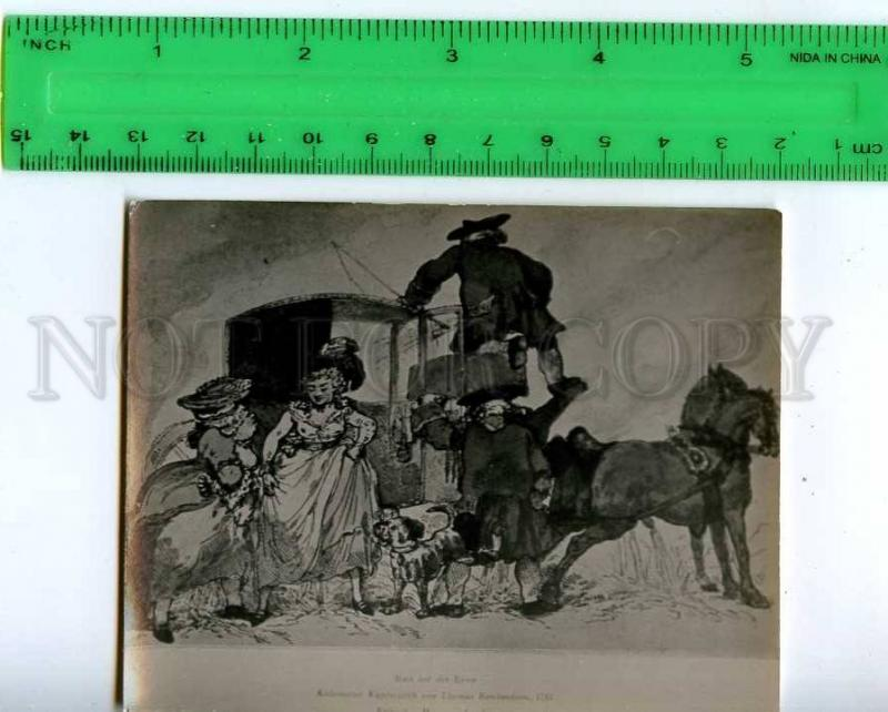 213263 Rowlandson Rest the journey peeng RUSn photo miniature