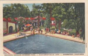 California Bakersfield Outdoor Swimming Pool At Bakersfield Inn Curteich