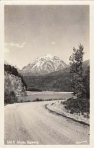 RP; Alaska Highway, Alaska, 1940s ; Robinson Photo postcard