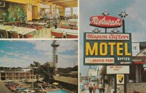 NIAGARA FALLS , Ontario, 1950-60s Clifton Motel