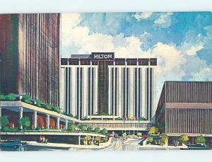 Unused Pre-1980 HILTON HOTEL Omaha Nebraska NE c0627-12