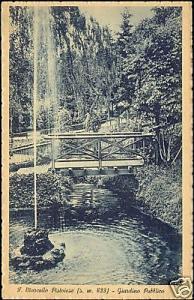 italy, SAN MARCELLO PISTOIESE, Giardino Pubblico (1925)