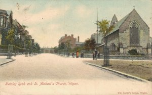 UK Swinley Road and St. Michael's Church Wigan 03.41