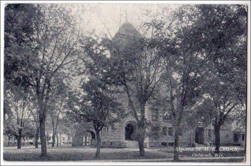 WI - Algoma Street M. E. Church, Oshkosh