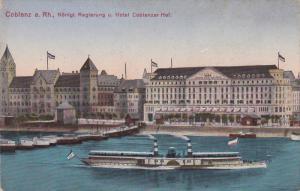 Konigl. Regierung U. Hotel Coblenzer Hof, Coblenz a. Rh., Germany, 1900-1910s