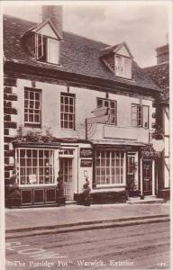 England Warwick The Porridge Pot Real Photo