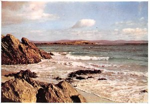 Scotland, UK Old Vintage Antique Post Card Cathedral Rocks, North End Iona Un...