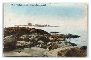 Postcard White Rocks, Hampton Beach NH 1900's J13