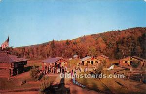 Lake George, New York, NY, USA Postcard Block House, Log Home, Weaver's ...
