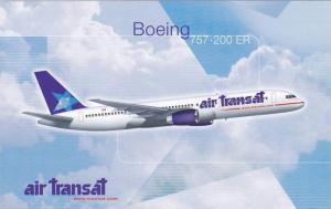 Air Transat Airline's Boeing 757-200 ER Airplane , 60-80s