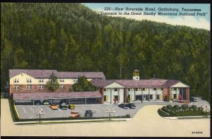 Tennessee ~ New Riverside Hotel GATLINBURG Great Smoky Mts National Park LINEN