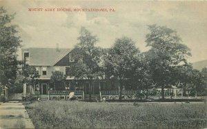 1909 Mount Airy House Mountainhome Pennsylvania Mick #160 Postcard 20-7781