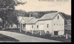 Vermont Plymouth Coolidge Homestead Albertype