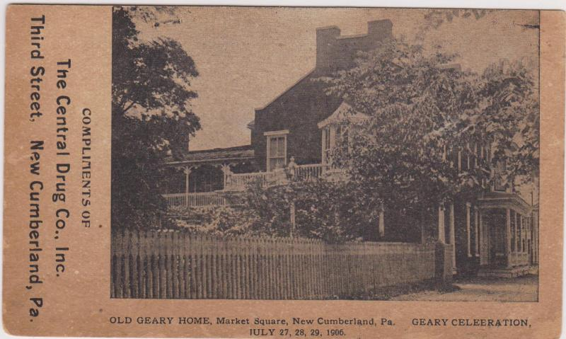 NEW CUMBERLAND , Pennsylvania, 00-10s : Old Geary Home