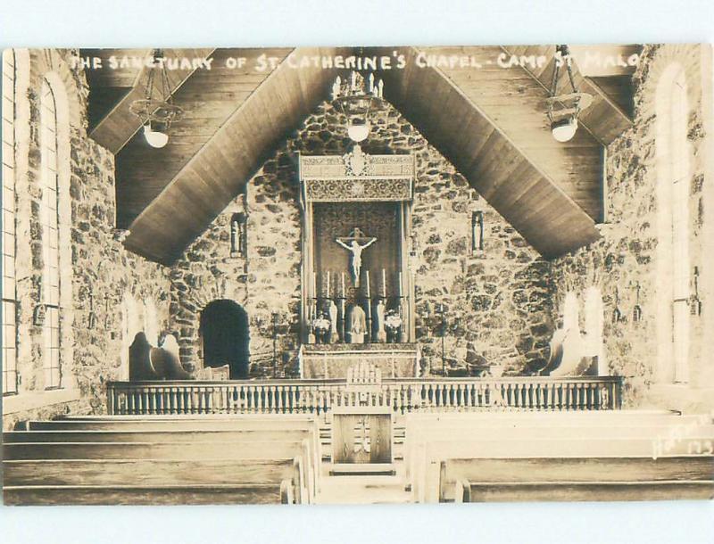 old rppc CHURCH Allenspark - Near Denver Colorado CO i6336