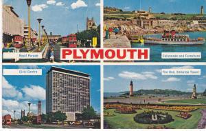 Post Card Devon Plymouth 4 views