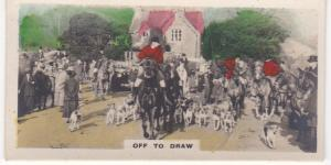 Cigarette Cards Cavanders CAMERA STUDIES Real Photos No 54 Off to Draw