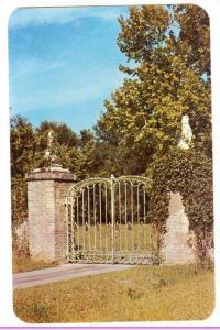 The entrance to brookgreen Gardens,  Myrtle Beach,   South Carolina,  40-60s
