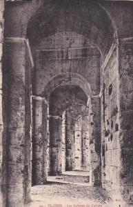 Tunisia El-Djem Thysdrus Les Galeries du Colisee