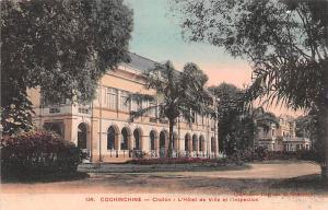 Cochinchine Vietnam, Viet Nam Choin, L' Hotel de Ville et I'Inspection Cochin...