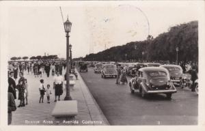 RP; BUENOS AIRES , Argentina , 1930s; Avenida Costanera, pre-cancelled front
