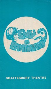 Rod Hull & Emu In Pantoland Comedy Shaftesbury Theatre Programme