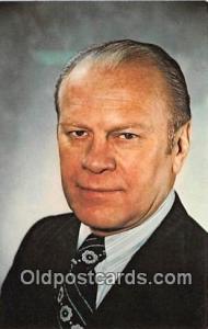 38th President Postcard Gerald Rudolph Ford