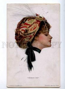 189639 Princess Pat by Harrison FISHER Vintage R&N #2046 PC