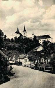 Czech Republic Vranov u Brna RPPC 02.58