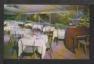 Leighton's Woodlands Lake Restaurant,Ardsley,NY Postcard
