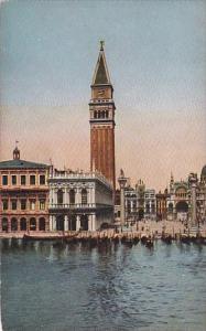 Italy Venezia Piazetta di San Marco dal mare