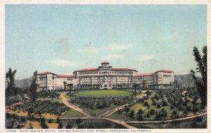 Huntington Hotel, Pasadena, CA, Early Postcard, Unused, Detroit Publishing Co.