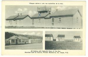 Blanchet Cafe & Cabins, Riviere Madeleine Co. Gaspe PQ
